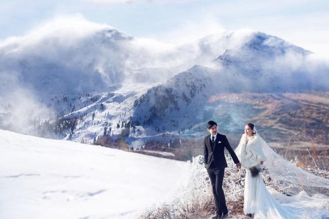 冬天結婚穿什麼樣的婚紗 防寒保暖小物品