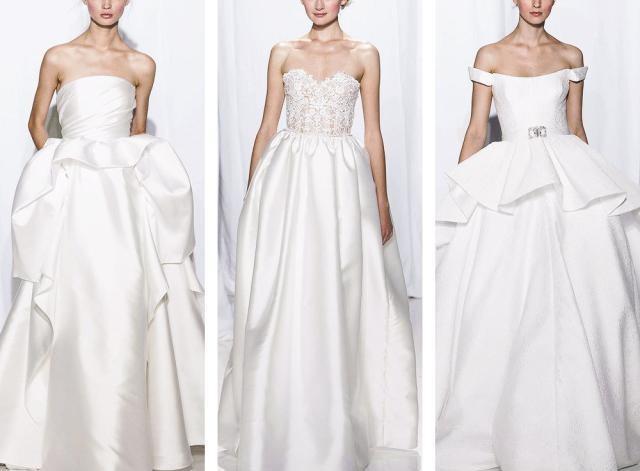 仙氣高定婚紗Reem Acra,最美蕾絲系列,細膩精緻優雅禮服