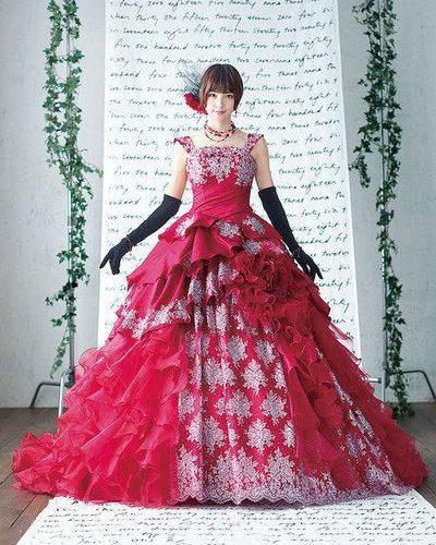 女生做夢都想都嘗試的9款婚紗,九種顏色呈現出不同風格
