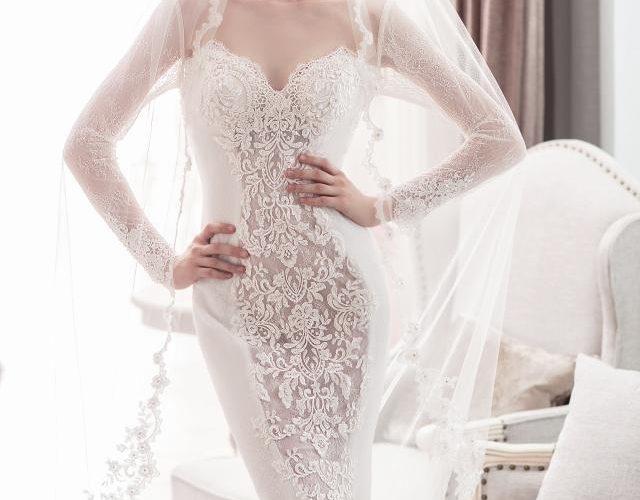 魚尾婚紗適合哪一類型的身材?