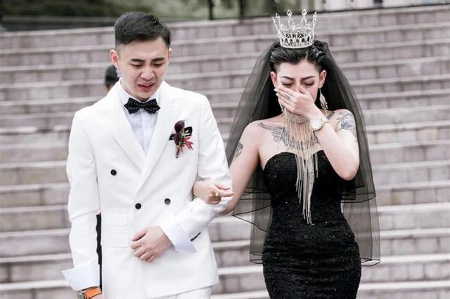 黑婚紗寓意與中國習俗
