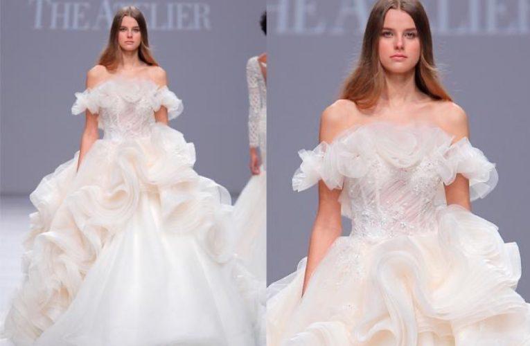 [新聞] The Atelier唯美高定婚紗禮服,將水晶鞋縫製在婚紗上,無比夢幻璀璨