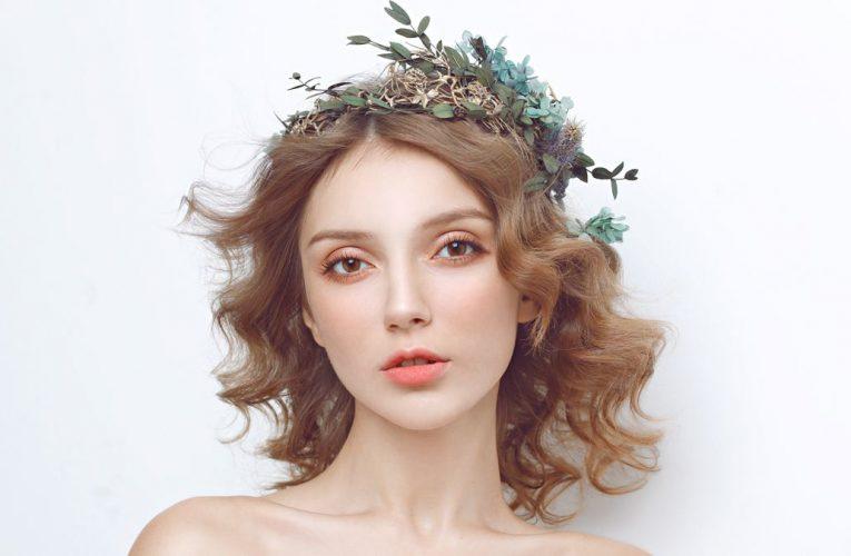 時尚新娘化妝造型方法,新娘妝特點