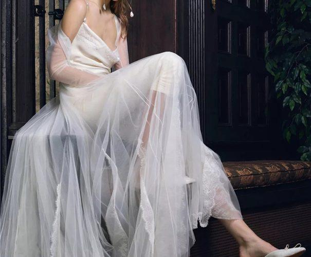 純白婚紗以外的選擇!外國流行浪漫風漸變色婚紗