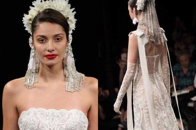 頭紗才是主角!Gigi Hadid 扮新娘配30呎長頭紗